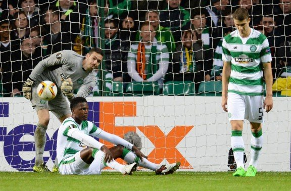 Celtic deflated after goal