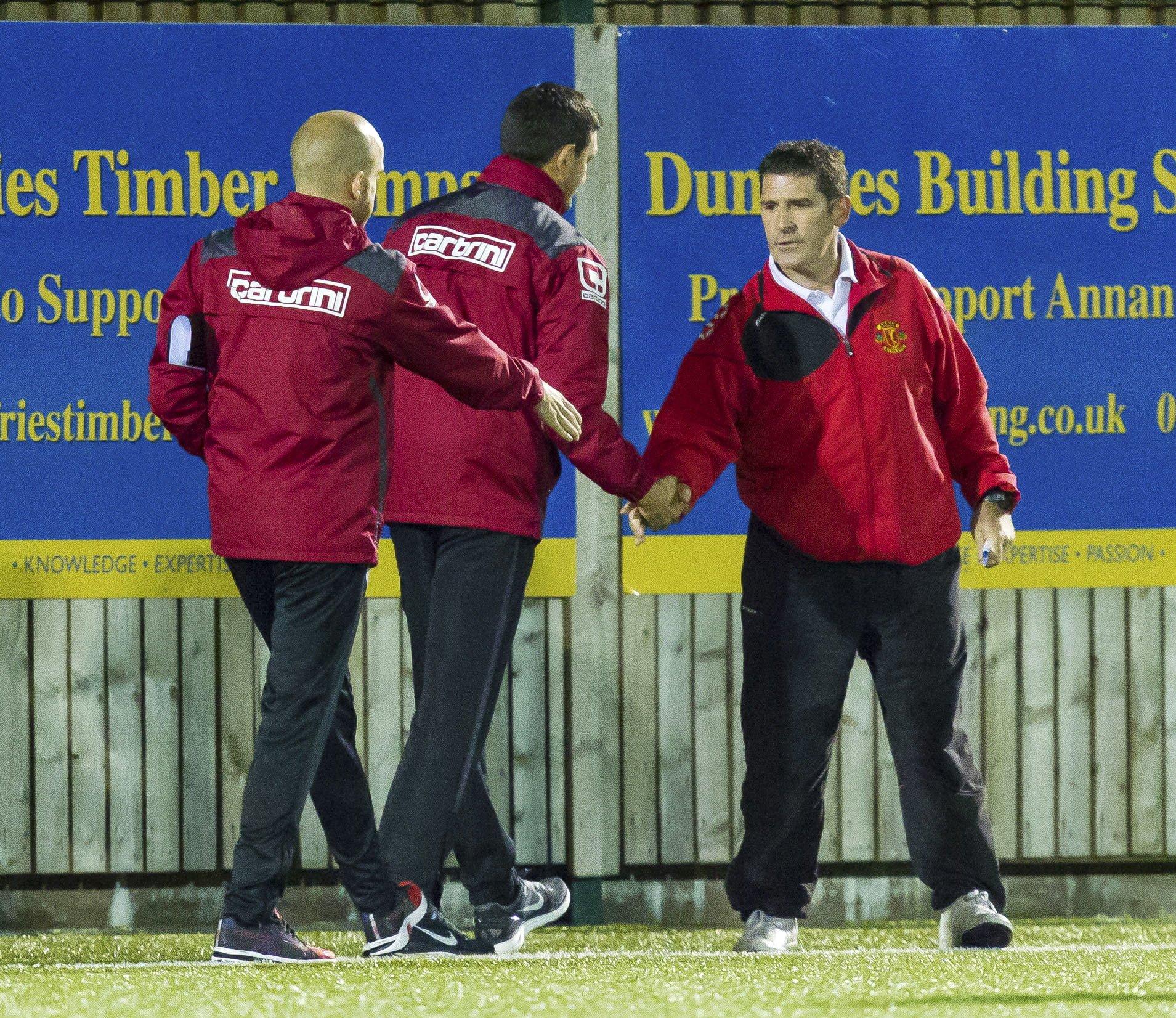 Jim Chapman, Annan Athletic