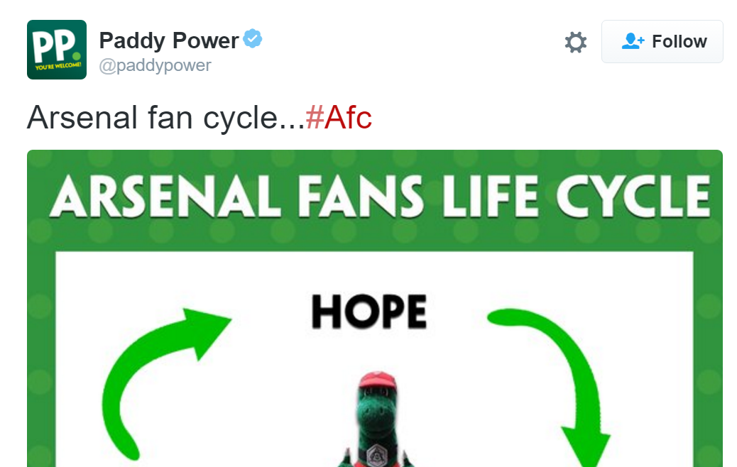 Arsenal Meme Trolled