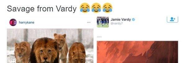 Jamie Vardy destroys Harry Kane