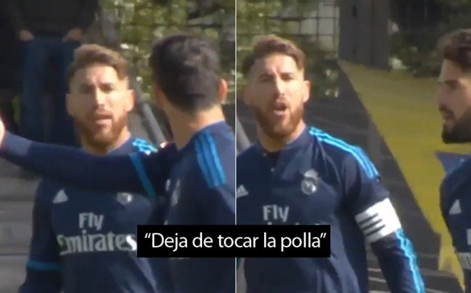 Ramos Isco Fight