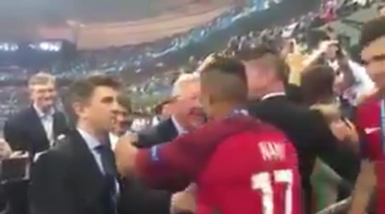 Sir Alex Ferguson Nani and Ronaldo
