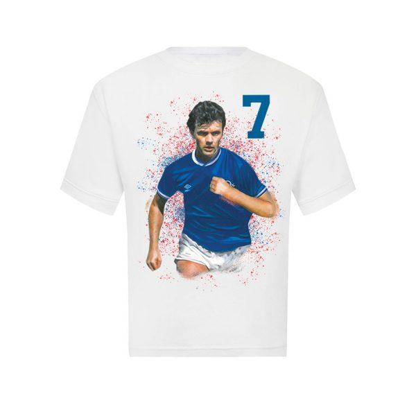 Davie Cooper White T Shirt