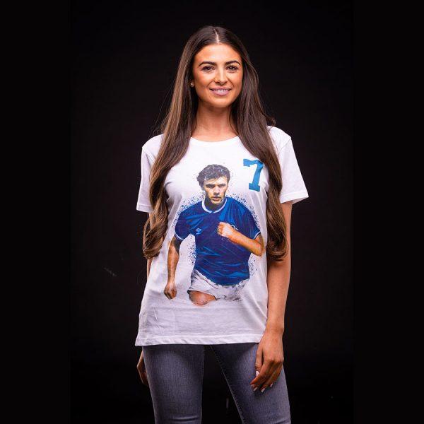Davie Cooper Ladies T Shirt