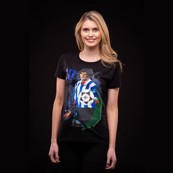 Diego Maradona Ladies T Shirt