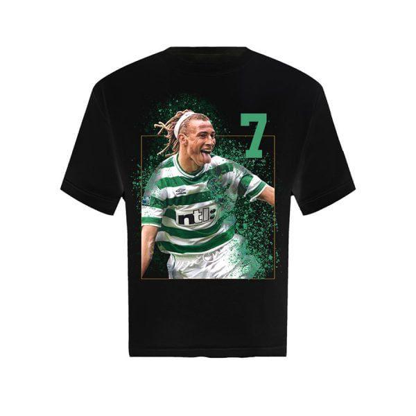 Henrik Larsson T Shirt Black