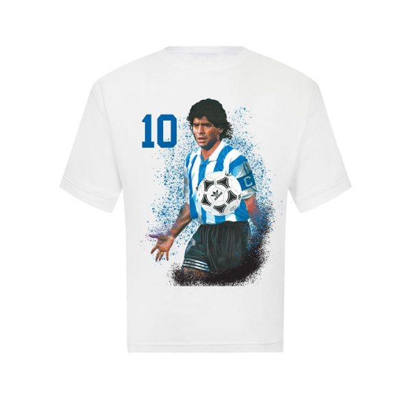 Diego Maradona T Shirt White